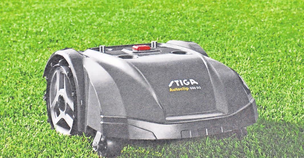 Mähroboter von Stiga gehören zu den leistungsstärksten Produkten auf dem Markt. Foto: Repro-Stiga