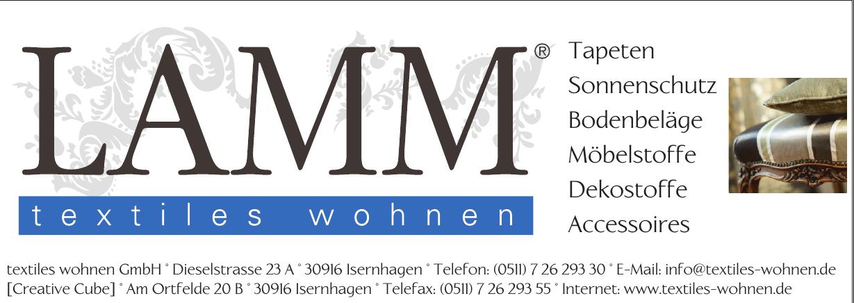 Lamm textites wohnen GmbH