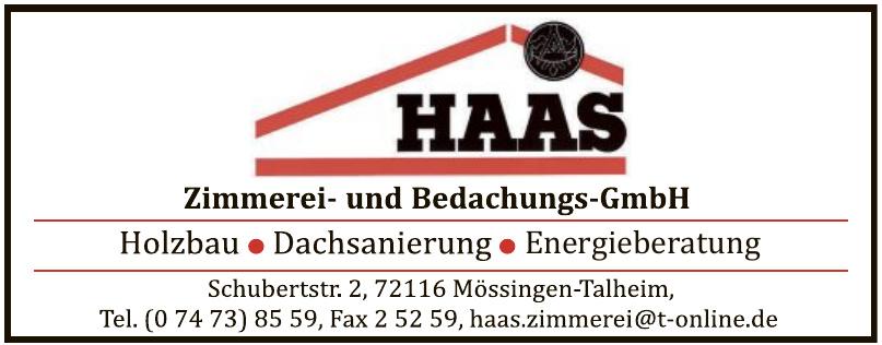 Haas Zimmerei- und Bedachungs-GmbH