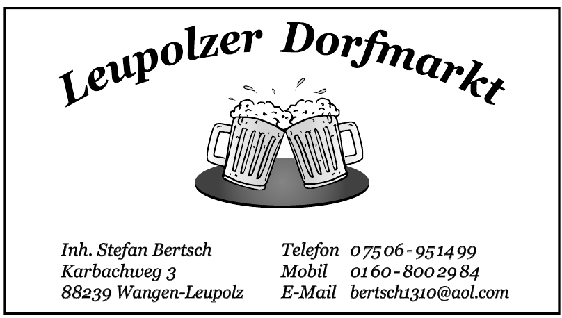 Leupolzer Dorfmarkt