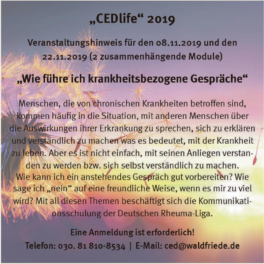 CEDlife 2019