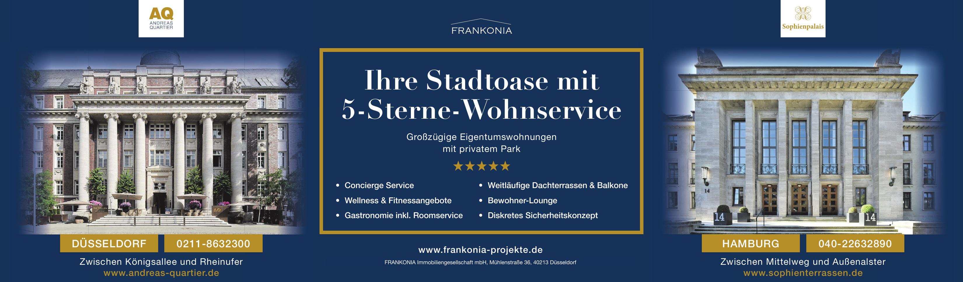 Frankonia Eurobau AG - Sophienterrassen