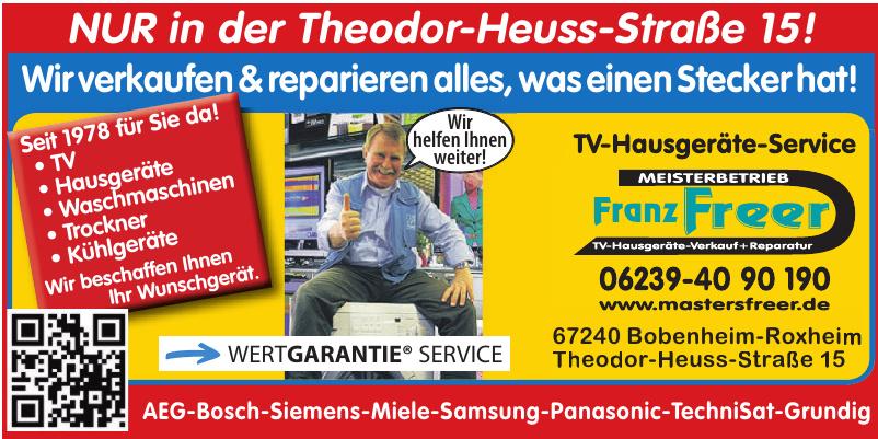 Franz Freer Meisterbetrieb