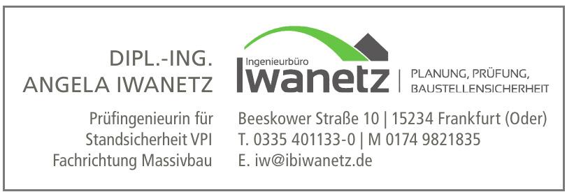 Ingenieurbüro Iwanetz - Dipl.-Ing. Angela Iwanetz