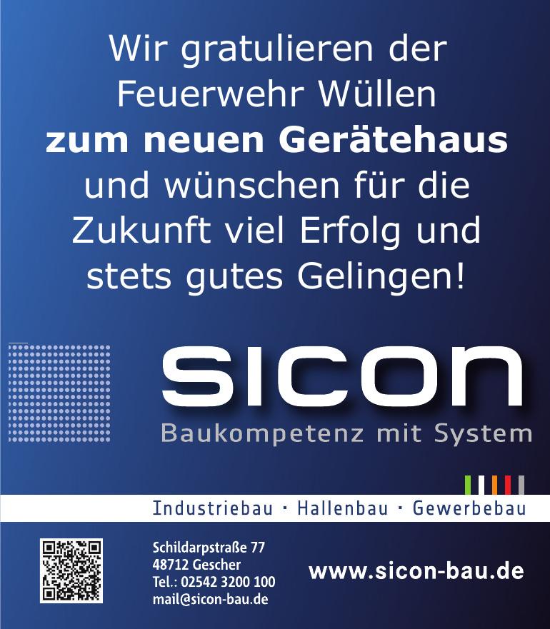 Sicon Baukompetenz mit System