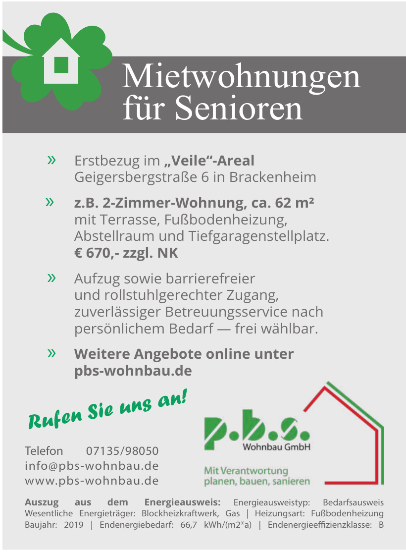 p.b.s. Wohnbau GmbH