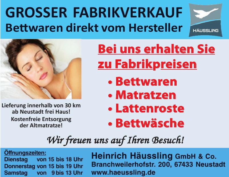 Heinrich Häussling GmbH & Co.