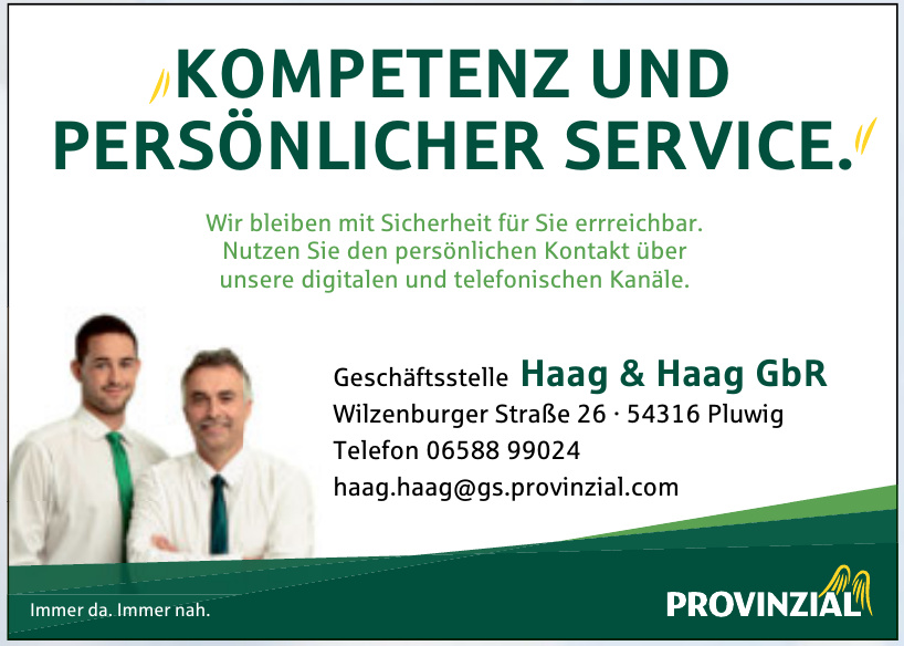 Provinzial - Geschäftstelle Haag & Haag GbR