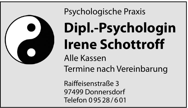 Psychologische Praxis Dipl.-Psychologin Irene Schottroff