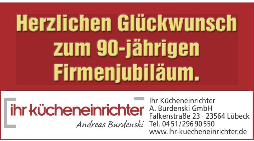 """""""Ihr Kücheneinrichter"""" Andreas Burdenski"""