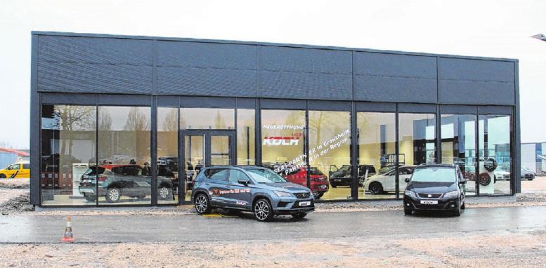 Der Seat-Standort der Koch-Autogruppe ist einer von lediglich 120 Cupra-Händlern in Deutschland.