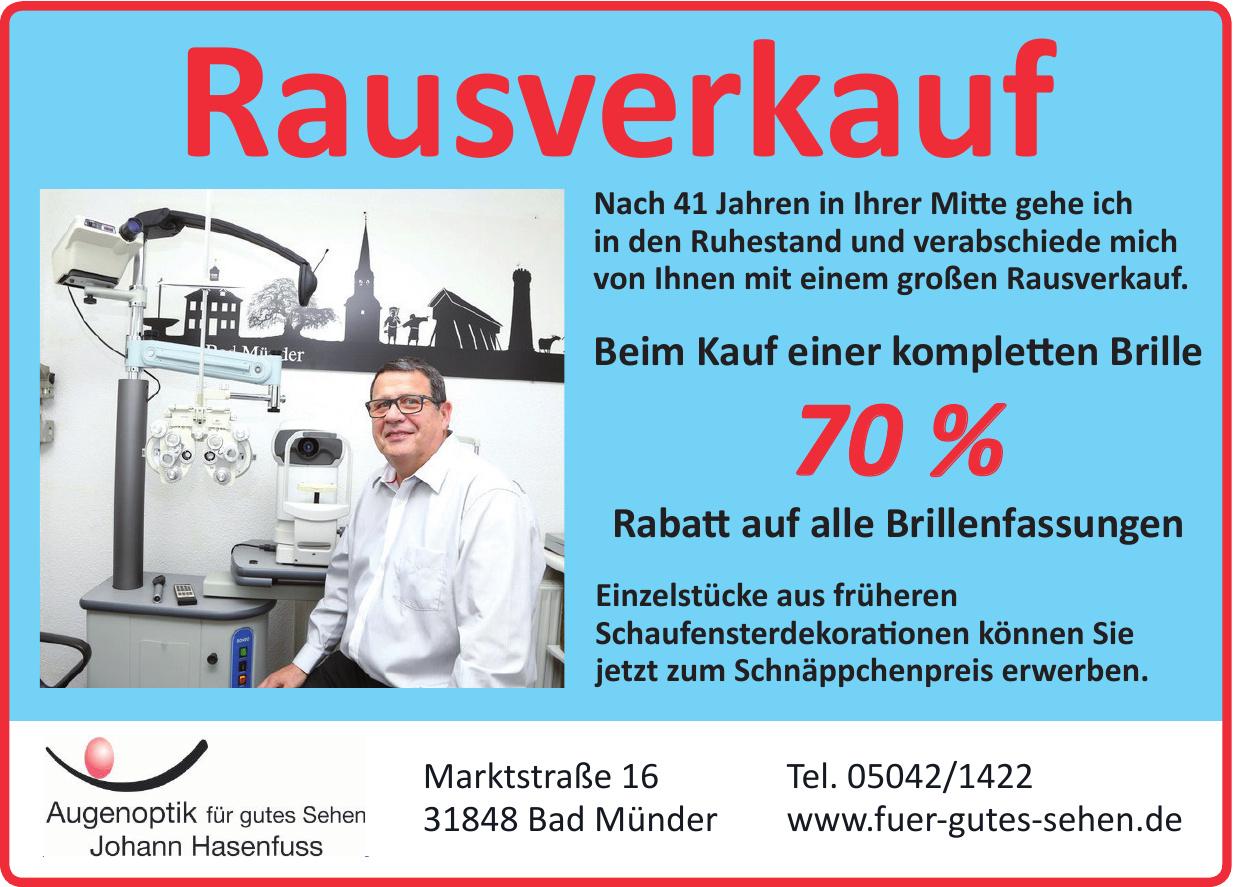 Augenoptik für gutes Sehen - Johann Hasenfuss