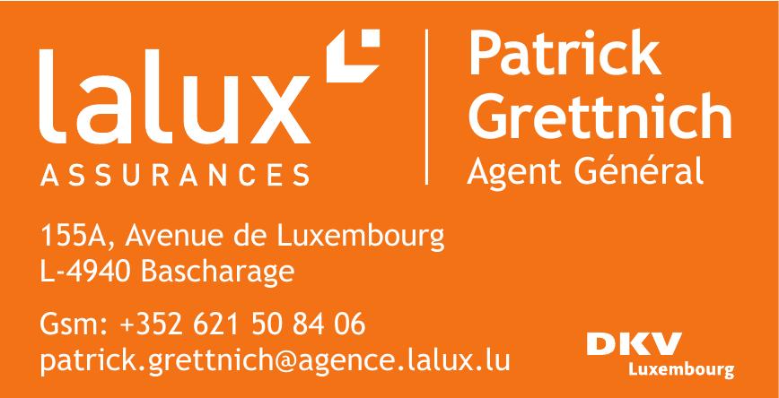 Lalux Assurances - Patrick Grettnich