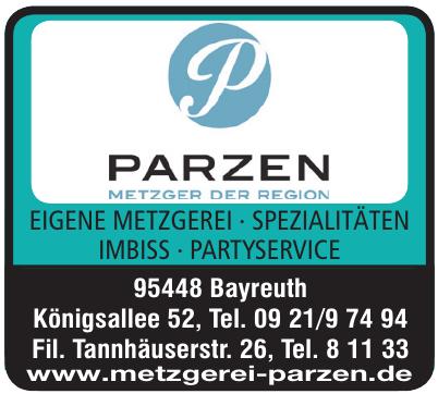 Helmut Parzen Metzgerei