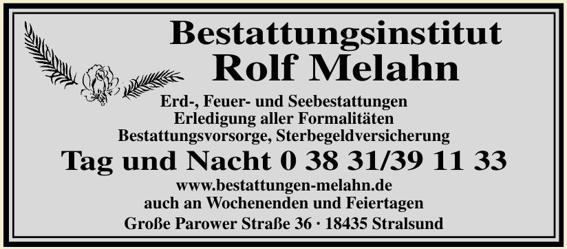 Bestattungsinstitut Rolf Melahn