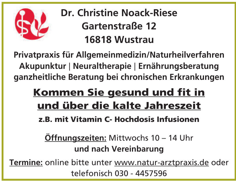 Dr. Christine Noack-Riese