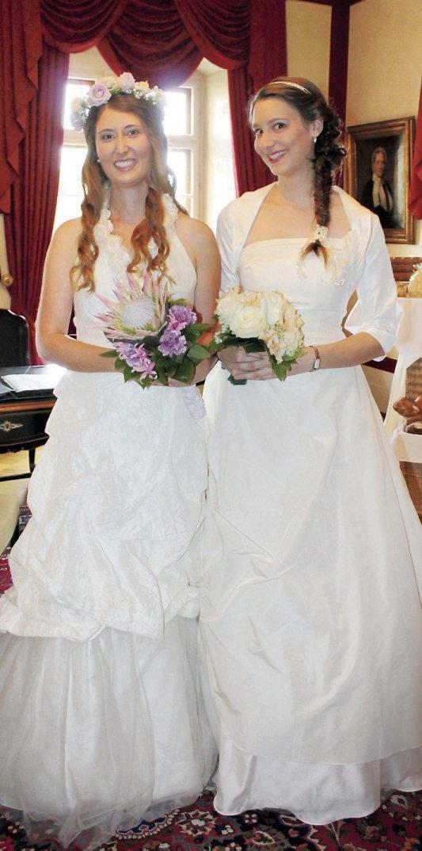 Die Hochzeitsmesse auf Schloss Weitenburg bietet alles für den schönsten Tag im Leben. Archivbild. Ifigenia Stogios