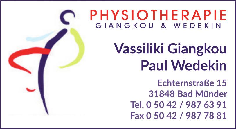 Physiotherapie Giangkou & Wedekin