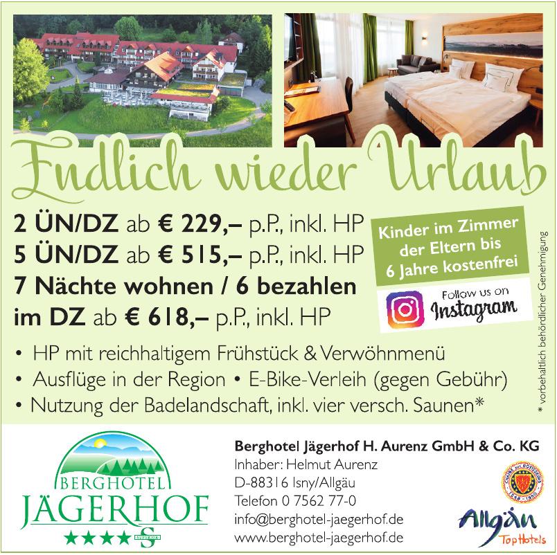 Berghotel Jägerhof