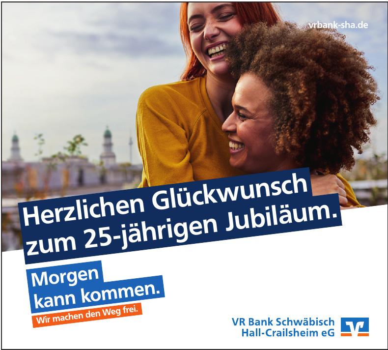 VR Bank Schwäbisch Hall - Crailsheim eG