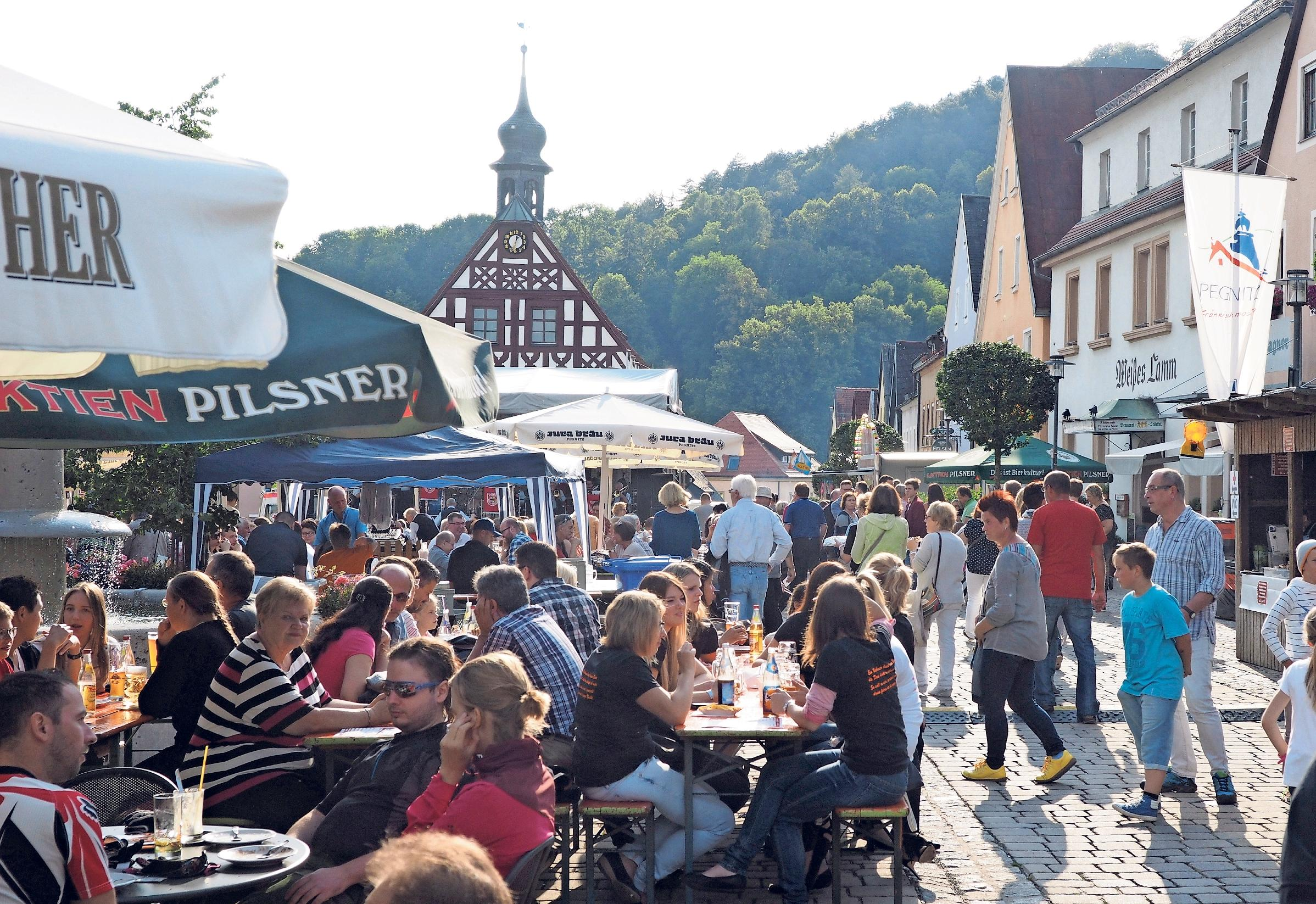 Drei Tage feiern: Marktplatzfest in Pegnitz Image 1