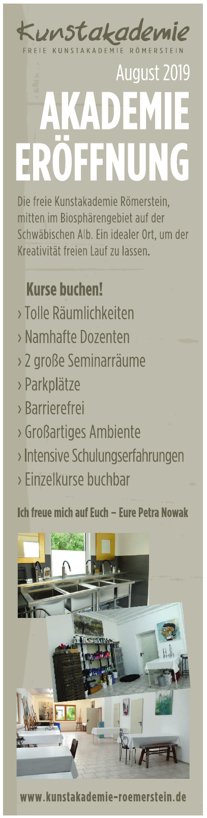 Freie Kunstakademie Römerstein