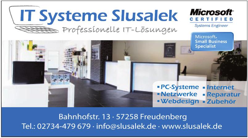 IT Systeme Slusalek