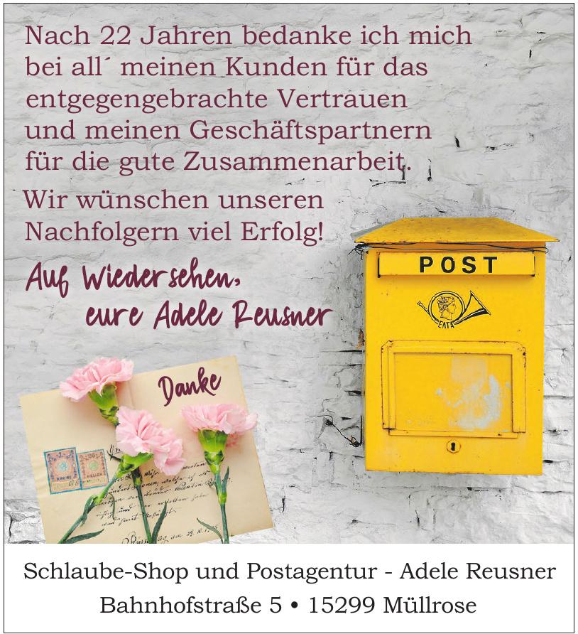 Schlaube-Shop und Postagentur - Adele Reusner