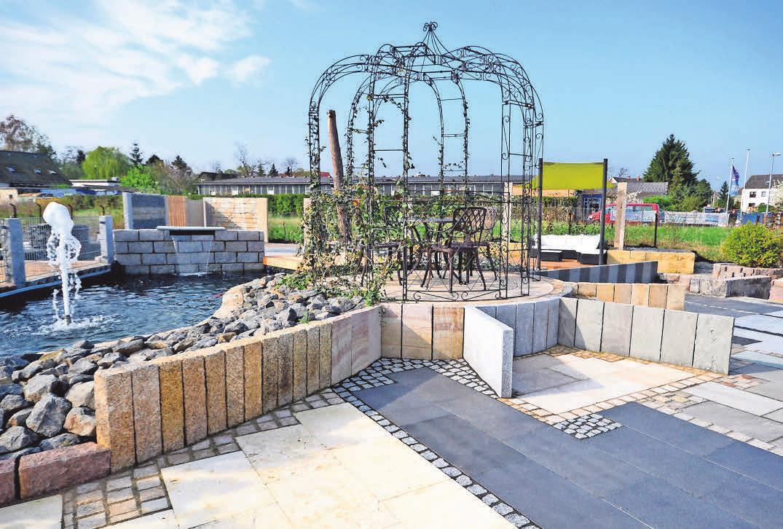 Die aktuelle Ausstellung des Gartenbaubetriebs in Gehrden verschafft einen Überblick, was alles möglich und machbar ist, um den Außenbereich zu gestalten.<div><br></div>
