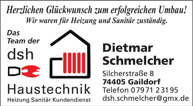 dsh Dietmar Schmelcher Haustechnik