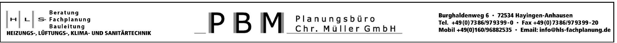 PBM Planungsbüro Chr. Müller GmbH