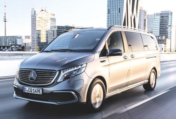 Die neue, vollelektrische Großraum-Limousine EQV von Mercedes-Benz