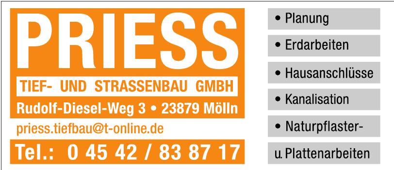 Priess Tief- und Strassenbau GmbH
