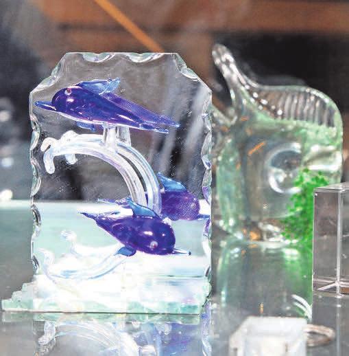 Accessoires aus Glas.