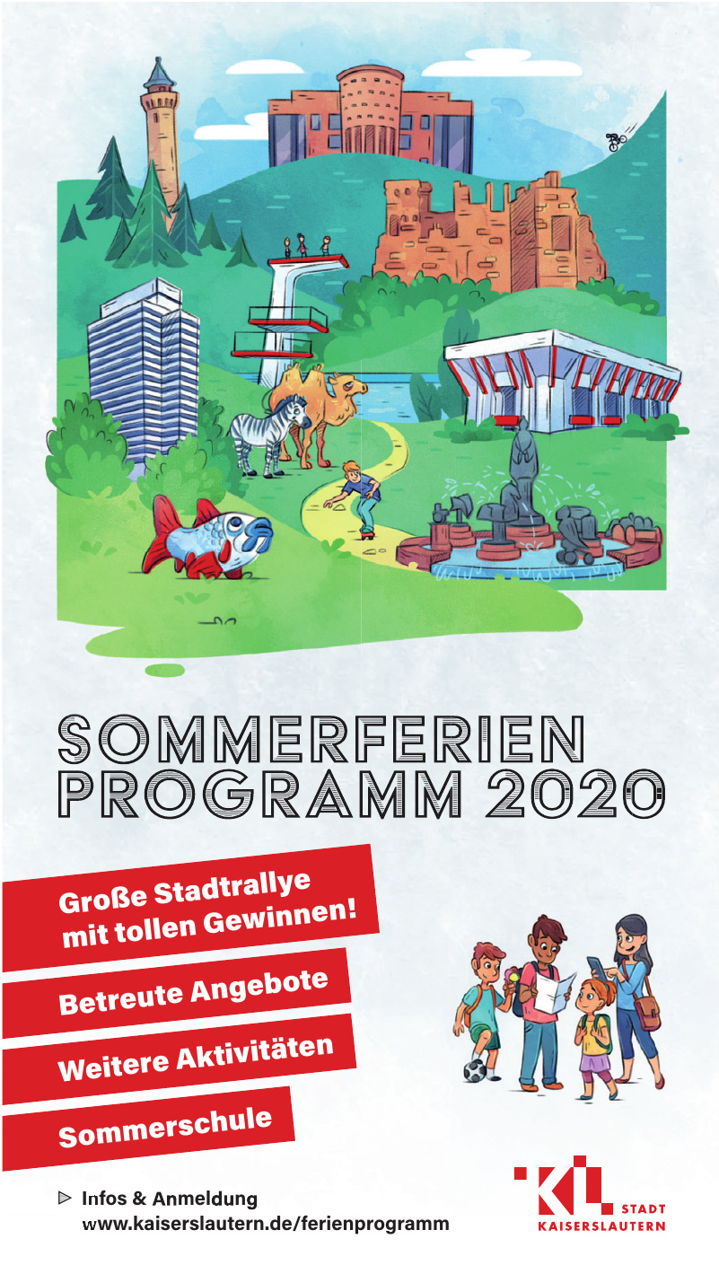 Stadt Kaiserslautern - Sommerferien Program 2020