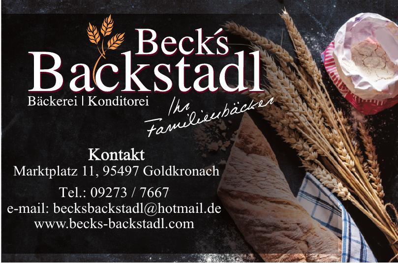 Beck´s Backstadl