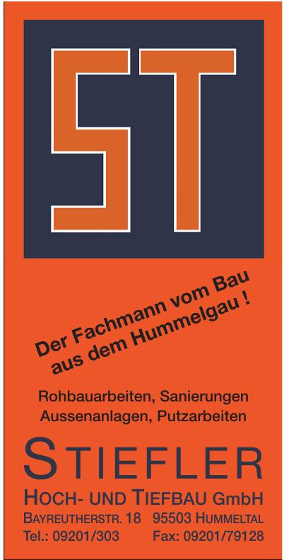 Stiefler Hoch- und Tiefbau GmbH
