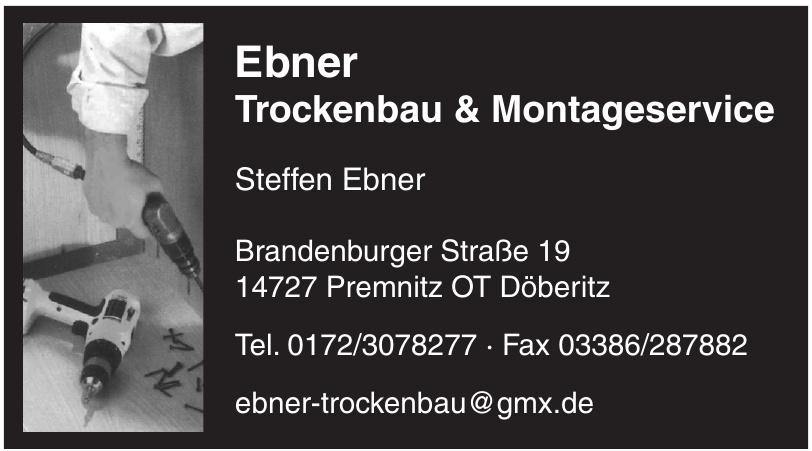Ebner Trockenbau & Montageservice