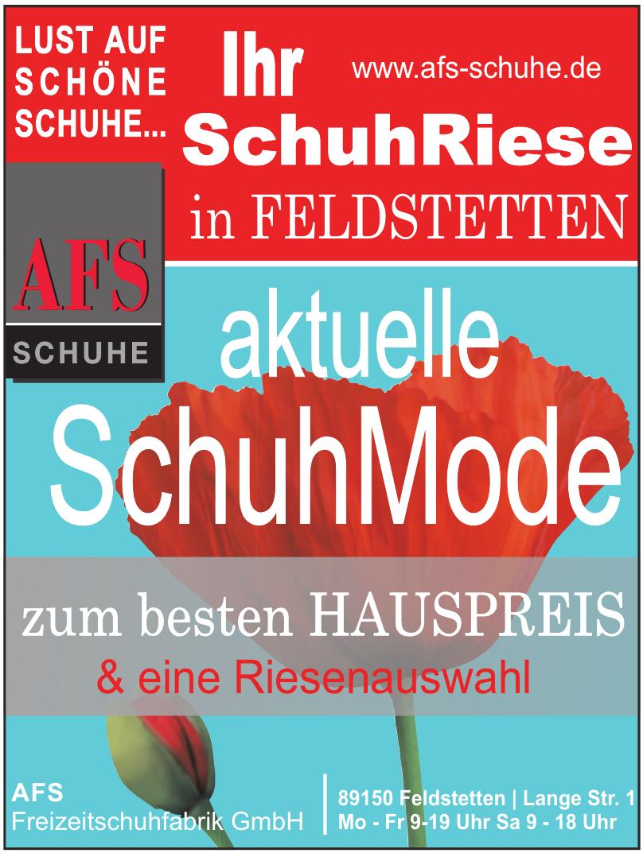 AFS Freizeitschuhfabrik GmbH