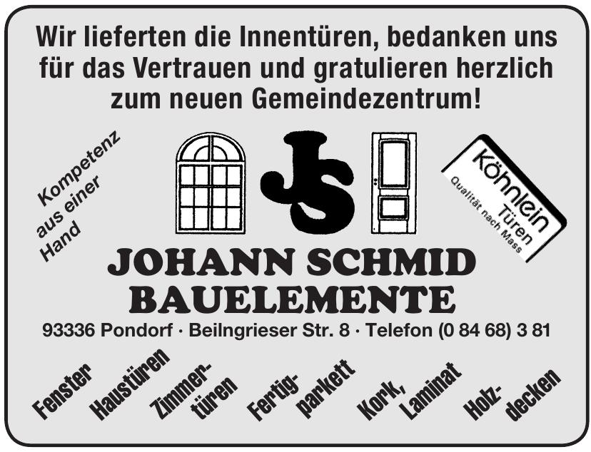 Johann Schmid Bauelemente
