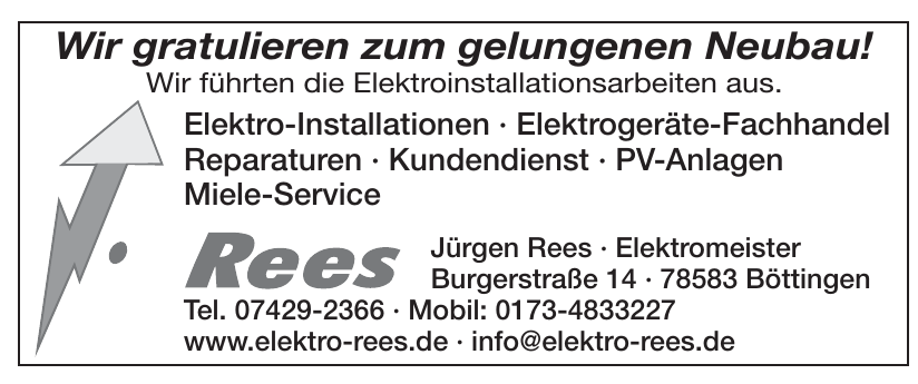 Jürgen Rees · Elektromeister