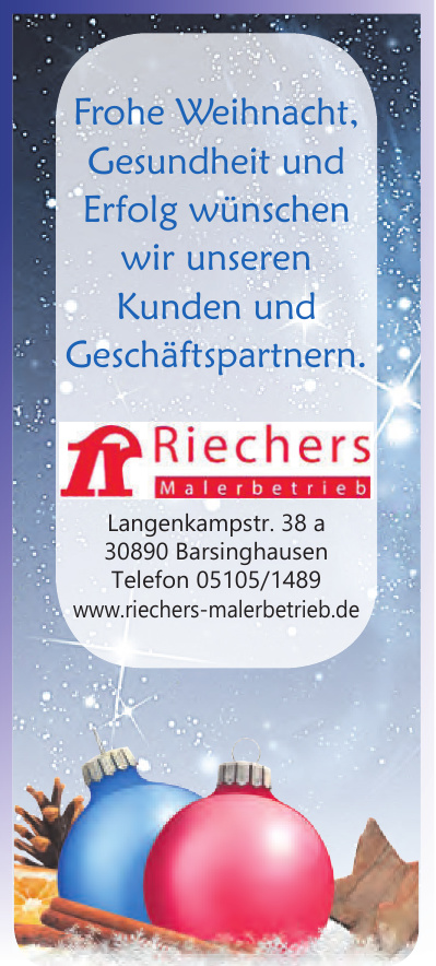Riechers Malerbetrieb