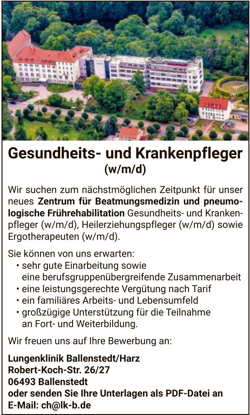 Lungenklinik Ballenstedt/Harz