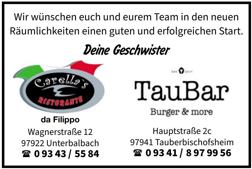 TauBar Burger & more
