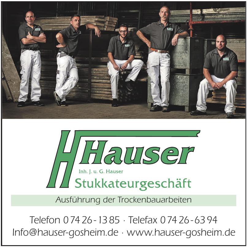 Hauser Gosheim