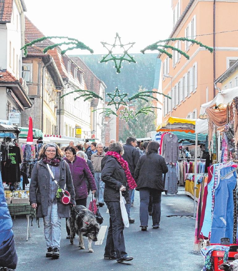 Der Weihnachtsmarkt in Hofheim erfreute sich in den vergangenen Jahren großer Beliebtheit. FOTO: BRIGITTE SCHUBART