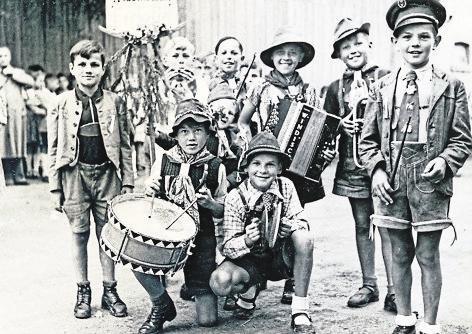 Die ganz Kleinen waren schon in den frühen Jahren ein Bestandteil des Vereins.