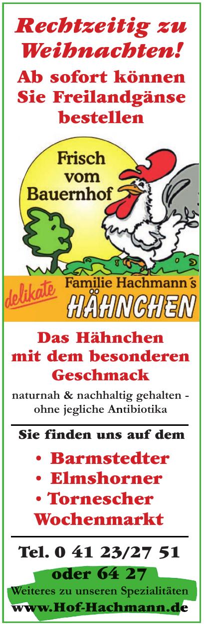 Familie Hachmann´s Hähnchen