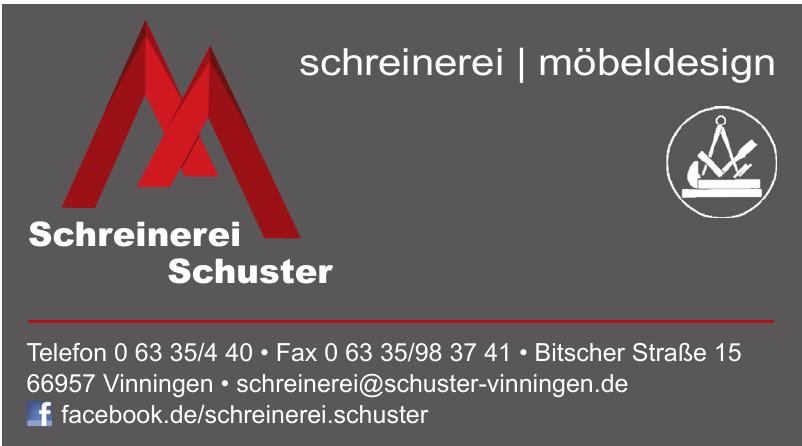 Schreinerei Schuster