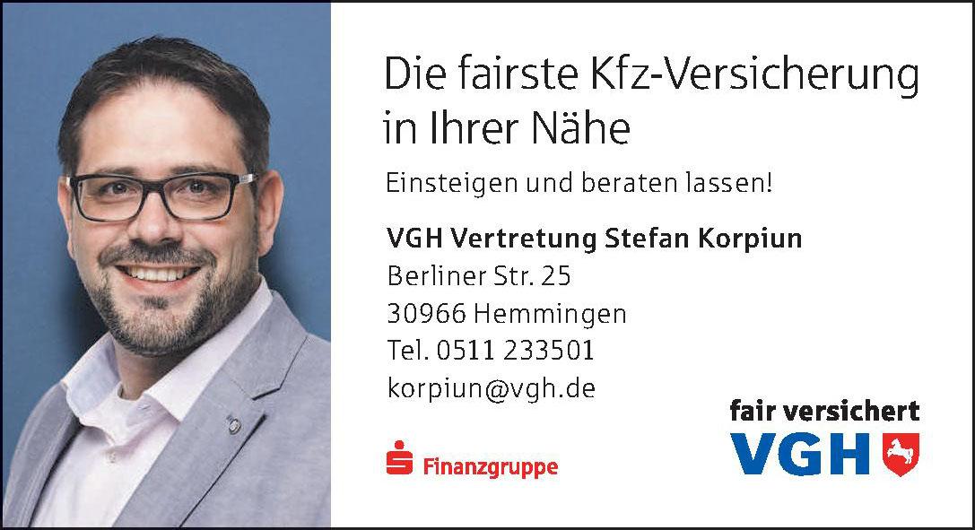 VGH Vertretung Stefan Korpiun